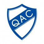Quilmes Atletico Club soccer team logo, decals stickers