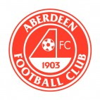 Aberdeen FC soccer team logo, decals stickers