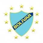 Club Bolivar soccer team logo, decals stickers