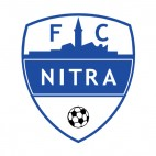 FC Nitra soccer team logo, decals stickers