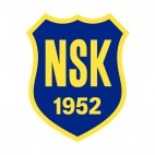 Norrby SK soccer team logo, decals stickers