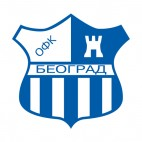 OFK Beograd soccer team logo, decals stickers