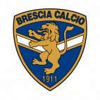 Brescia Calcio soccer team logo, decals stickers