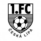 1 FC Ceska Lipa soccer team logo, decals stickers