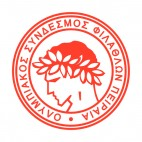 Olympiacos FC soccer team logo, decals stickers