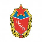 CSKA Moscow soccer team logo, decals stickers