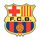 FC Barcelona soccer team logo, decals stickers
