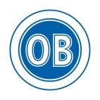 OB soccer team logo, decals stickers