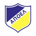 APOEL FC soccer team logo, decals stickers