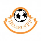 Football Federation of Belarus logo, decals stickers