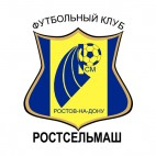 FC Rostselmash soccer team logo, decals stickers
