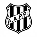 Associacao Atletica Ponte Preta soccer team logo, decals stickers