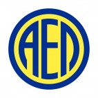 AEL Limassol soccer team logo, decals stickers
