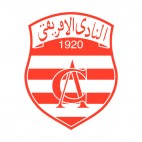 Club Africain soccer team logo, decals stickers