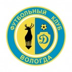Dinamo Vologda soccer team logo, decals stickers