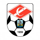Spartak Kostroma soccer team logo, decals stickers