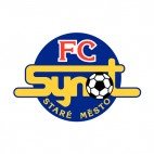1 FC Synot soccer team logo, decals stickers