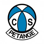 CS Petange soccer team logo, decals stickers