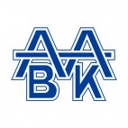 Aabenraa BK soccer team logo, decals stickers