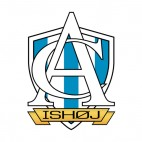 AC Ishoj soccer team logo, decals stickers