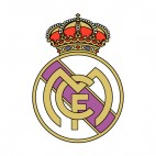 Real Madrid CF soccer team logo, decals stickers