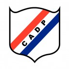 Club Atletico Deportivo Paraguayo soccer team logo, decals stickers