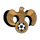 FC Tbilisi soccer team logo, decals stickers