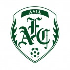 AFC Asian Football Confederation logo, decals stickers