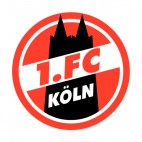 1 FC Koln soccer team logo , decals stickers
