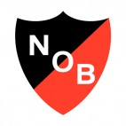Newells Old Boys soccer team logo, decals stickers
