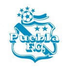 Puebla FC soccer team logo, decals stickers