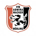 VfB Admira Wacker Modling soccer team logo, decals stickers