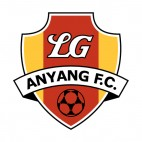 LG Anyang FC soccer team logo, decals stickers