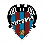 Levante Union Deportiva soccer team logo, decals stickers