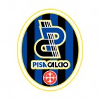 AC Pisa 1909 SSD soccer team logo, decals stickers