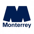 The Club de Futbol Monterrey soccer team logo, decals stickers
