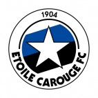 Etoile Carouge FC soccer team logo, decals stickers
