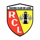 Racing Club de Lens soccer team logo, decals stickers