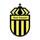 Real CD Espana soccer team logo , decals stickers
