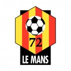 Le Mans soccer team logo, decals stickers