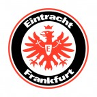 Eintracht Frankfurt soccer team logo, decals stickers