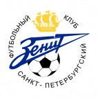 Zenit soccer team logo, decals stickers