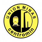 Union Minas Centromin soccer team logo, decals stickers