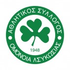 AC Omonia soccer team logo, decals stickers