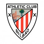 Athletic Bilbao soccer team logo, decals stickers