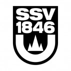 SSV Ulm 1846 soccer team logo, decals stickers