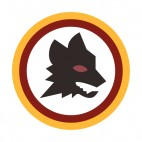 AS Roma soccer team logo, decals stickers