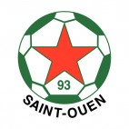 Saint Ouen soccer team logo, decals stickers