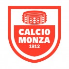 AC Monza 1912 soccer team logo, decals stickers
