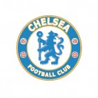 Chelsea football soccer club, decals stickers